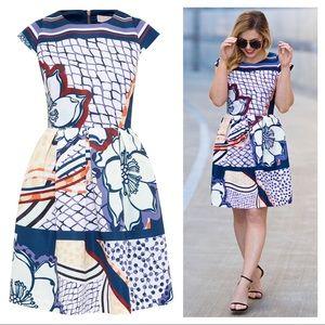 NEW Ted Baker Wrennie tribal print dress